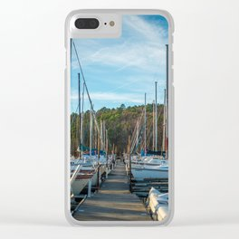 Boats on Boats on Boats Clear iPhone Case