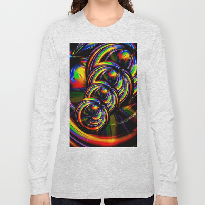Creations in the color spectrum of the rainbow 3 Long Sleeve T-shirt