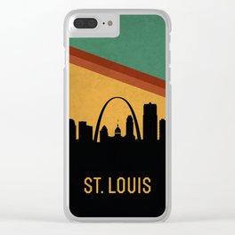 St. Louis Skyline Clear iPhone Case