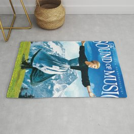 The Sound of Music poster Rug