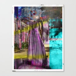 Alone In The Streets Canvas Print