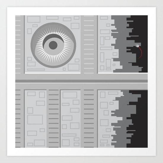 Death Star - Starwars Art Print