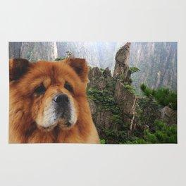 Dog Chow Chow Rug