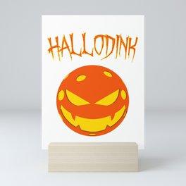Pickleball Halloween - Hallodink Mini Art Print