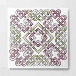 Celtic Knotwork Metal Print