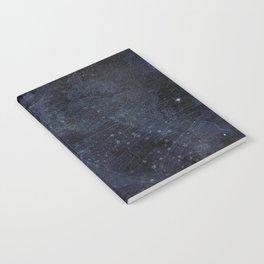 Antique World Star Map Navy Blue Notebook