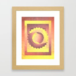 Twisted in the sky Framed Art Print