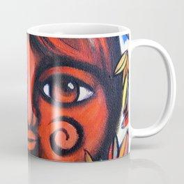 Boy con miedo Coffee Mug
