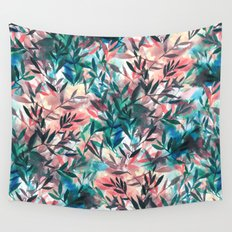 Changes Coral Wall Tapestry
