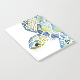 Sea Turtle - coastal - beach - sealife - ocean animals Notebook