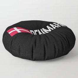 Denmark: Danish Flag & Denmark Floor Pillow