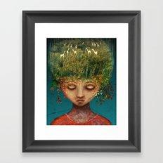 Quietly Wild Framed Art Print
