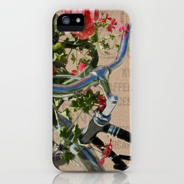 Just Ride iPhone Case