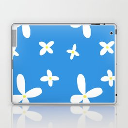 Classic Blue and White Flowers Laptop & iPad Skin