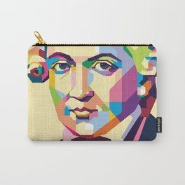 Immanuel Kant in Pop Art Carry-All Pouch