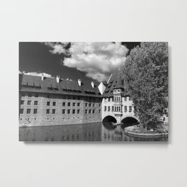 Old Architecture  Nuremberg Metal Print
