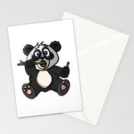 Maxx The Panda - Cartoon Animals Stationery Cards