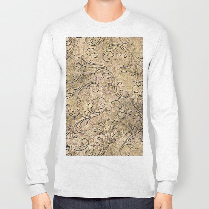 Vintage Damask 17416 Long Sleeve T-shirt