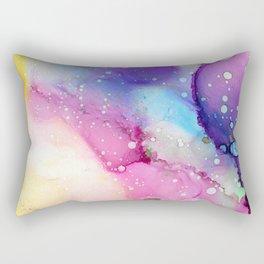 Rainbow Ink Rectangular Pillow