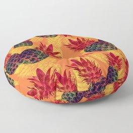Pineapple Carnival Floor Pillow