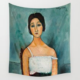 "Amedeo Modigliani ""Christina"" Wall Tapestry"