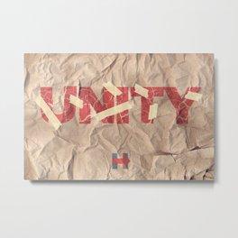 UNITY Metal Print