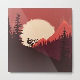 Trails Colors Metal Print
