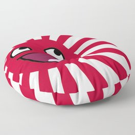 Rising smile Floor Pillow