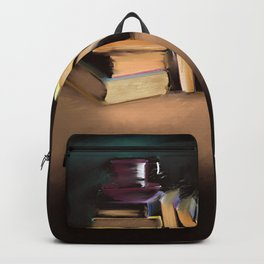 Coffee Books// Art Print Backpack