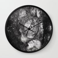 grim fandango Wall Clocks featuring Grim by Rowye
