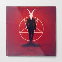 Devil Man Metal Print