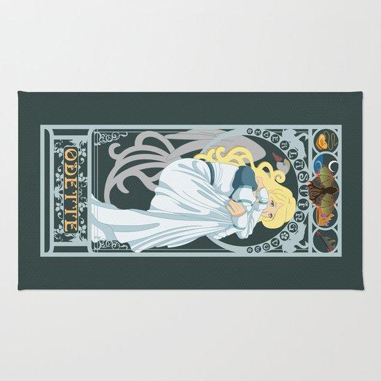 Odette Nouveau - Swan Princess Rug
