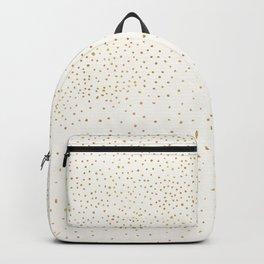 Falling Stars - Metallic Gold Backpack