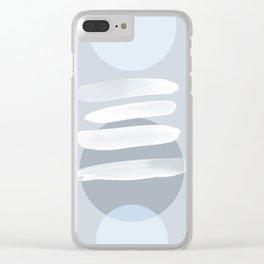 Minimalism 18 X Clear iPhone Case