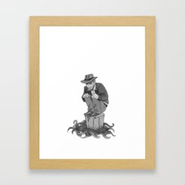 Inktober Day 21 Framed Art Print