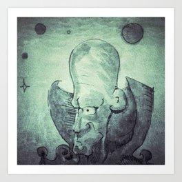 Meepzorp Art Print