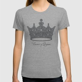 County of Queens | NYC Borough Crown (GREY) T-shirt