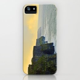Cliffs of Moher Morning iPhone Case