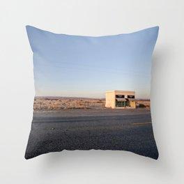 Donald Judd, Marfa TX Throw Pillow