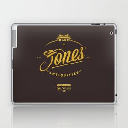 """Jones' Rare Antiquities"" - gold version Laptop & iPad Skin"