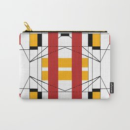 Geometric Abstaction Carry-All Pouch