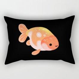 Ranchu and Forsythias Rectangular Pillow