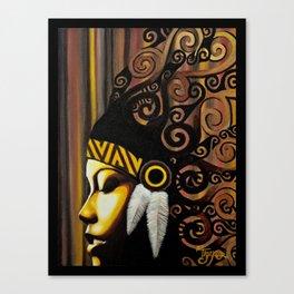 head dress Canvas Print