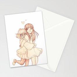 Mirai and Mitsuki Stationery Cards