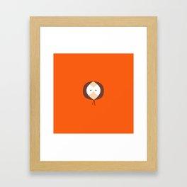 Where is Kenny? Framed Art Print