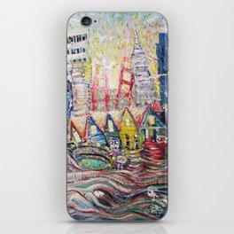 SF Glance iPhone Skin