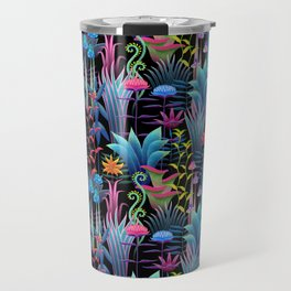 Perelin, the bioluminescent jungle Travel Mug