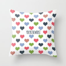 The Worst Throw Pillow