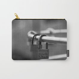Love padlocks. Carry-All Pouch