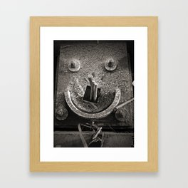Architectural Smile Framed Art Print